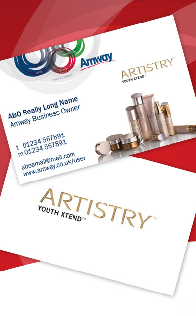 Gallery For Amway Artistry Business Cards