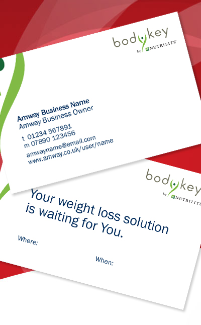 Amway Bodykey Business Cards Amway Shop