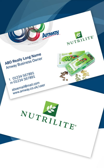 Nutrilite business cards amway shop nutrilite business cards colourmoves